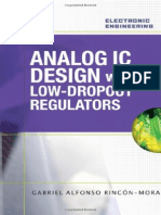 Analog IC Design With Low-dropout Regulators