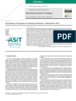 Association of Surgeons in Training Conference, Manchester 2013.pdf