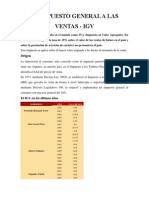 El Impuesto General a Las Ventas