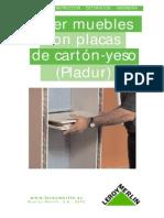 Como Hacer Muebles Con Placas de Carton o Yeso