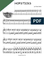 CHOPSTICKS sheet music