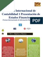 NIIF2011-Nic 01 Presentacion de Estados Financieros