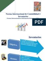 NIIF2011-NIC 02 Inventarios