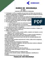 DDS 003 Regras de Segurança para Armação e Ferragens