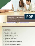 Procurement Management- 5th Edition