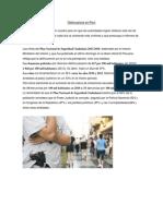 Delincuencia en Perú
