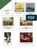 MFW Adventures Timeline Pieces