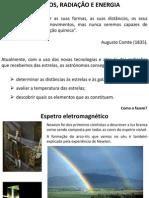 Espetros radiação e energia I 2011_2012