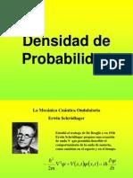 Densidad de Probabilidad
