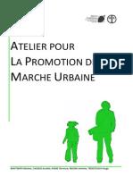 Etude pour la promotion de la marche urbaine