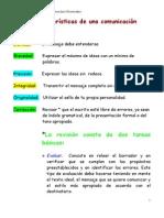 características redacción