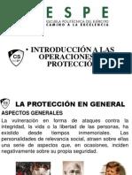 9.- INTRODUCCION A LAS OPERACIONES DE PROTECCIÓN