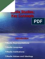 Media Studies Course Overview New AQA