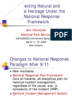 Hitchcock US National Response Network