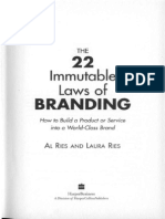 Al Ries - The 22 immutable laws of branding