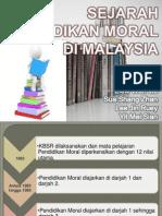 Sejarah dan Kepentingan Pendidikan Moral di Malaysia