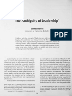 ambiguity of leadership