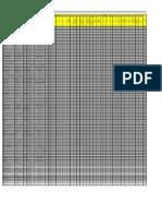 Base de Datos Aditivos 2012
