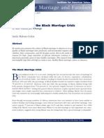 Responding to the Black Marriage Crisis