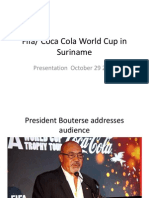 FIFA World Cup Suriname