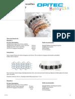 Bracelets en Rocailles