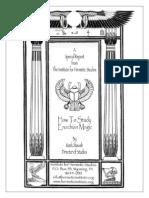 Mark Stavish - How to Study Enochian Magic.pdf