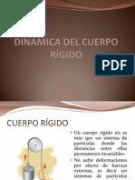 DINAMICA DEL CUERPO RÍGIDO