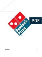 marketing of domino's(service) in india