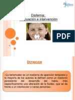 Disfemia  disertacion