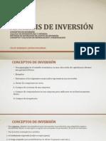 Analisis de inversión