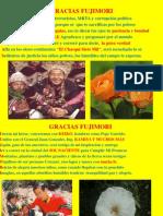 Gracias Fujimori