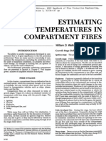 Estimating Temperatures in Compartment Fires 1987