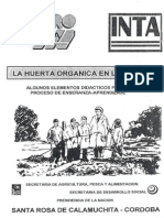 La Huerta Organica en La Escuela