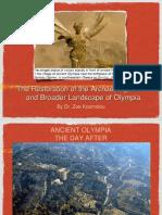 Kosmidou Wildfires Olympia Greece Power Point Presentation
