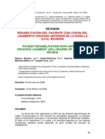 Revision Rehabilitacion LCA