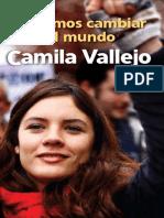 Libro Camila Vallejo