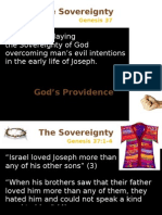 Genesis 37 - Sovereignity of God