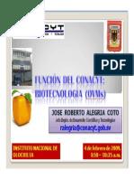 Biotecnología and CONACYT.pdf
