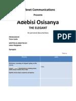 Adebisi Osisanya - The Elegant. A personal documentary.docx