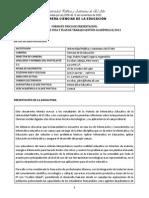 Programa - Informatica Educativa 2013