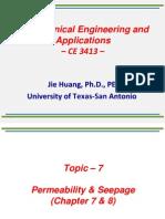 Topic - 7 _ Permeability & Seepage