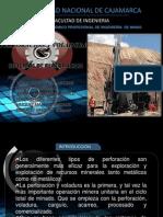 Trabajo de Perforacion y Mineria