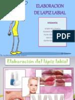 Elaboración del lápiz labial