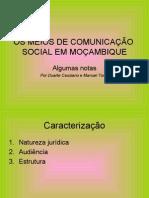 Comunicação social em Moçambique