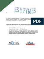 Mypes y Pymes