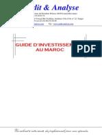 Guide Dinvestissement Maroc