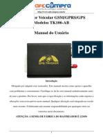 Manual de instrução TK-106AB - Português