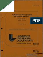 LLNL Explosives Handbook