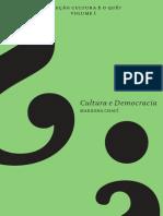 Cultura e democracia _ Marilena Chauí