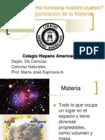 Organizacion de La Materia _5to